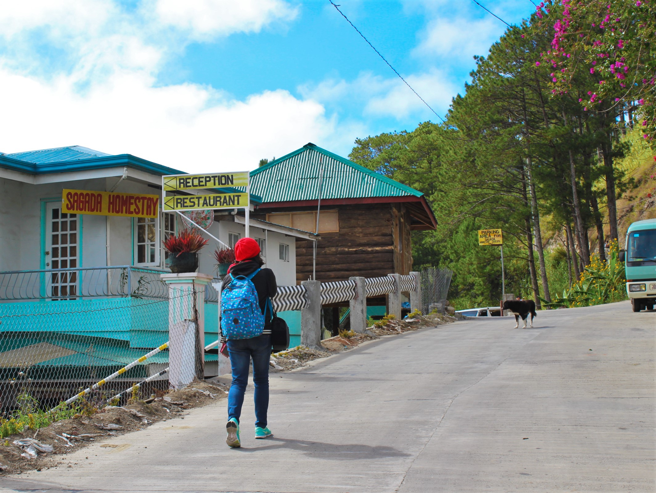 walking-around-sagada